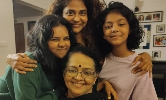 Mallika Sukumaran shares an adorable picture with family and grandchildren