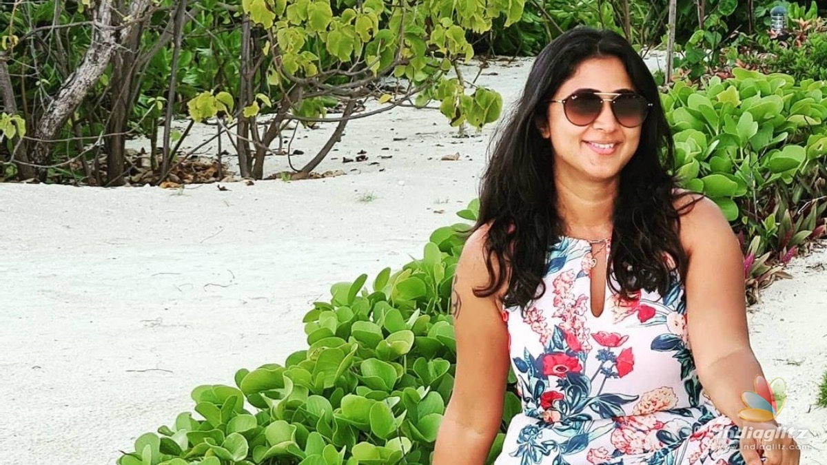 Actress Kaniha gets vaccinated for COVID-19