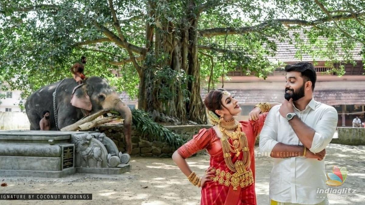 See pics: Actress Durga Krishna enters wedlock