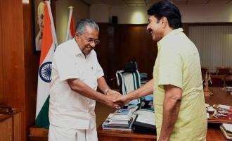 Mammootty congratulates CM Pinarayi Vijayan