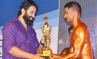 'Muscle Aliyan' Unni Mukundan awards Mr. Kerala Police