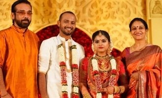 Thalavattam actress Karthika's son gets married