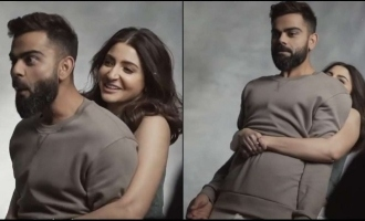 video Anushka Sharma lifts her hubby Virat Kohli