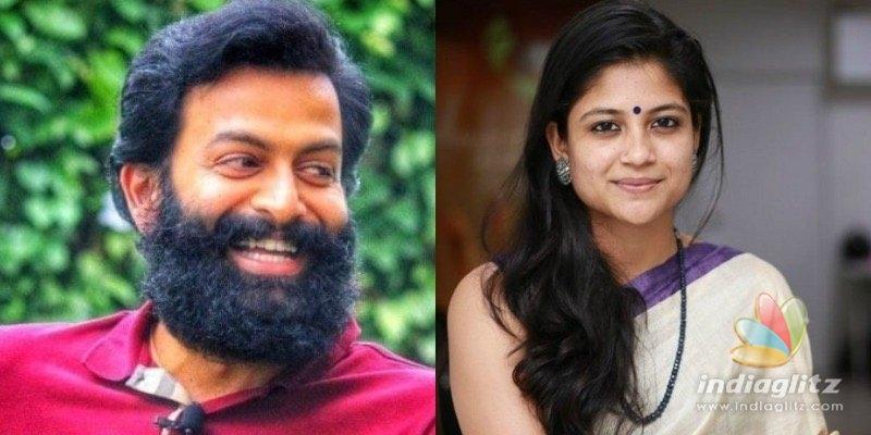 Aruvi fame Aditi Balan to romance Prithviraj