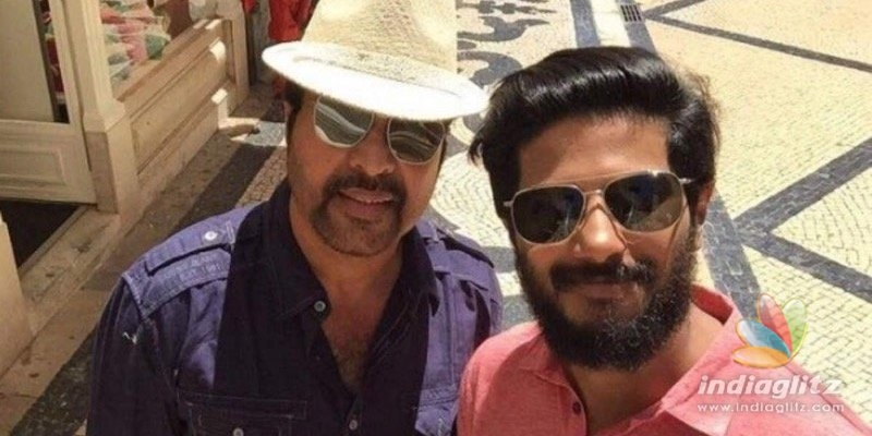 Dulquer Salmaans cutest birthday wish for vappichi Mammootty wins hearts