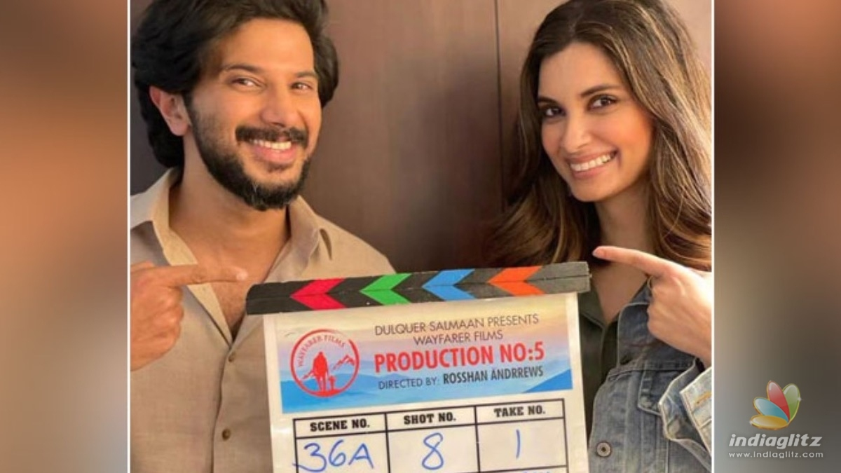 Dulquer Salmaan resumes the shoot of Salute