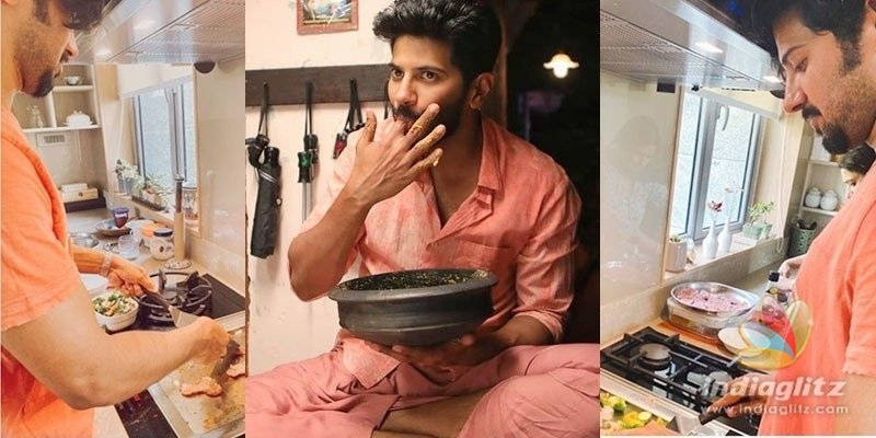 Dulquer Salmaan turns Chef Q, Suresh Raina requests for the recipe!