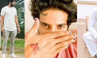 ADORABLE: Dulquer Salmaan turns a princess for his daughter!