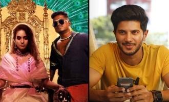 Dulquer Salmaan gets addicted to 'Enjoy Enjaami'