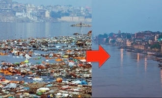 Lockdown: India's polluted holy river Ganga self-purifies!