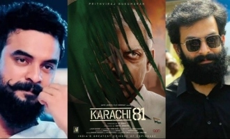 Prithviraj's look in 'Karachi 81' is making waves!