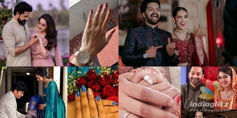 In pics: Wedding rings of Mollywood actors