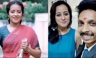Manichitrathazhu Alli's latest picture is VIRAL!