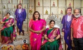 Pics of Meghna Raj's baby shower with Chiranjeevi Sarja go VIRAL