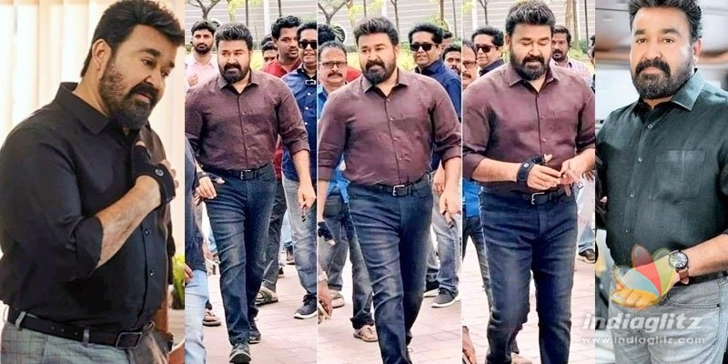 Mohanlal looks decades younger, photos VIRAL!