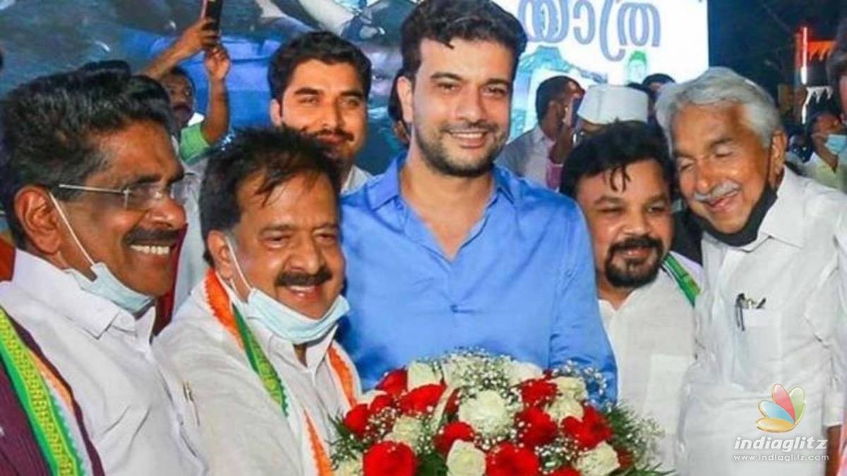 Popular actor-filmmaker Ramesh Pisharody joined Congress party?