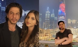 WATCH: Burj Khalifa lits up for Shah Rukh Khan's birthday