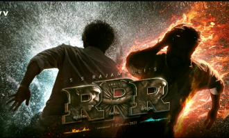 Rajamouli's RRR Malayalam motion poster is here!
