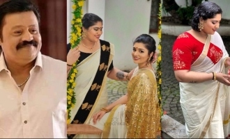 WATCH: Actor Suresh Gopi's daughters turn models!