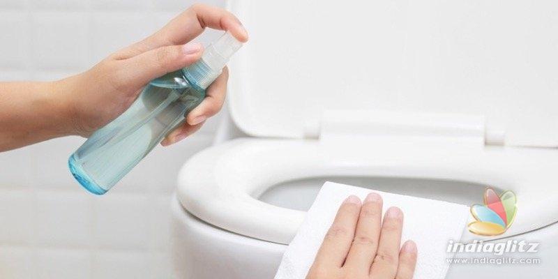 NEW STUDY: Flushing toilets can spread Coronavirus!