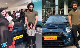 SEE PICS: After Fahadh, now Tovino Thomas gets a luxurious car