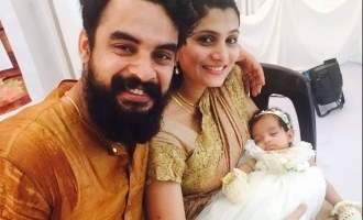Tovino Thomas names his newborn baby boy