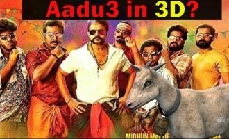 Jayasurya's Aadu 3 to get a 3D version?