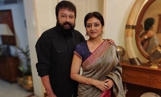 Actor Jayaram shares a lovely picture with his wife Parvathy