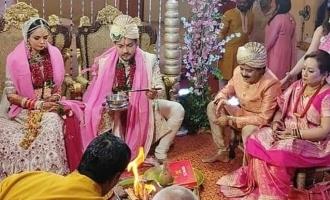 Udit Narayan's son enters wedlock; pics go viral!