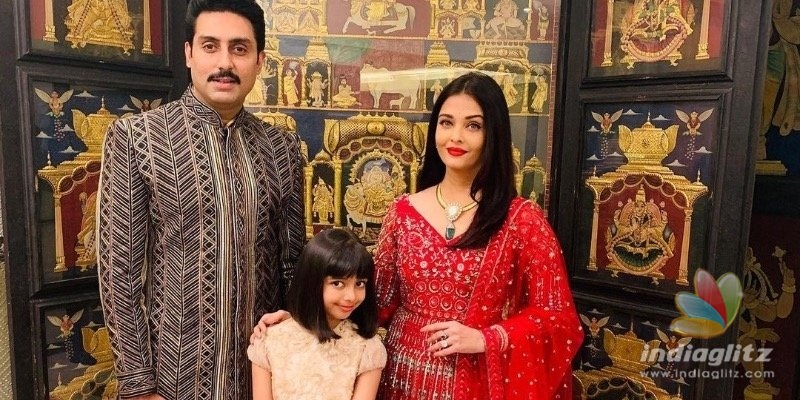 Aishwarya Rai celebrates Birthday; Abhishek Bachchan shares a romantic picture with wifey