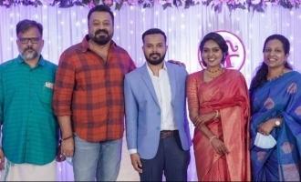 In pics: Celebs galore at director AK Sajan's son's wedding