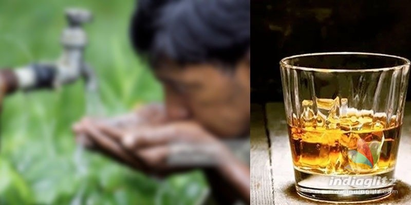Kerala: Alcohol flows from water taps