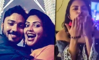 Amala Paul celebrates brother's birthday; hosts house party!