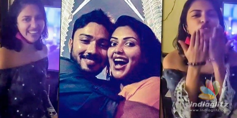 Amala Paul celebrates brothers birthday; hosts house party!
