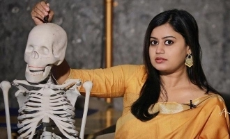 Drishyam actress Ansiba's photoshoot with skeleton go VIRAL!