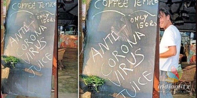 Kerala: A foreigner sells anti-coronavirus juice, booked!