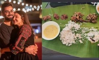 Mom-to-be Anushka Sharma enjoys Kerala sadya
