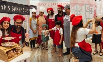Actor Asif Ali hosts a grand birthday party for his little daughter!