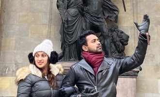 In pic: 'Love is the air' for actor Asif Ali!