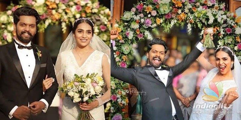 Celebs at Balu Varghese-Aileenas wedding