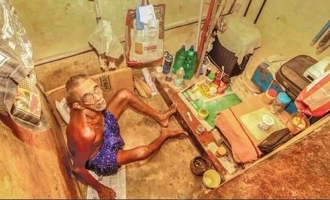75-yr-old man lives in toilet for 7 years