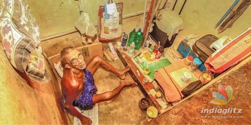 75-yr-old man lives in toilet for 7 yrs