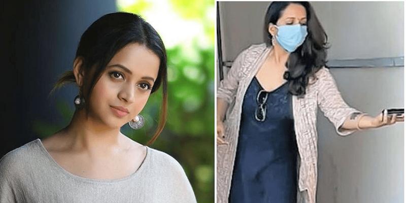 Actress Bhavana in quarantine