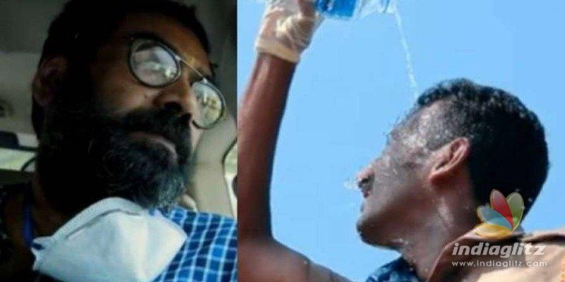 Biju Menon pays tribute to Kerala Police