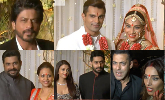 Shahrukh Khan, Salman, Aishwarya Rai and More Celebrities at Bipasha Basu and Karan Singh Wedding