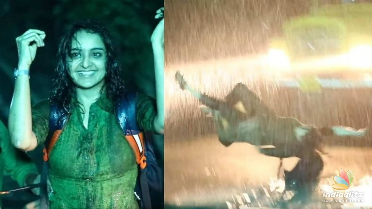 WATCH : Manju Warrier performs daring action stunts in rope