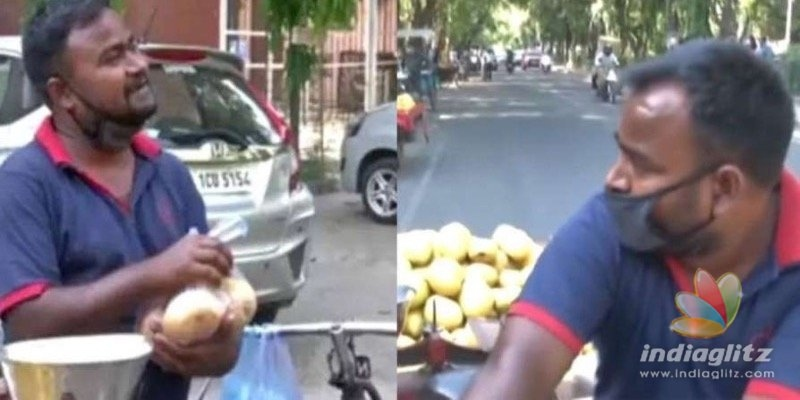 No movies, Bollywood actor sells fruits on streets