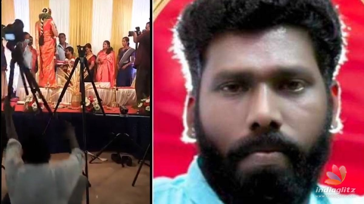 Cameraman collapses and dies while shooting a wedding