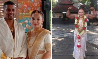 Mr Universe chitharesh natesan ties the knot in traditional Kerala style