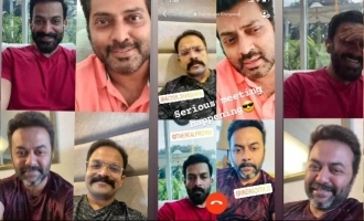When Classmates actors Prithviraj, Jayasurya, Narain and Indrajith had a reunion amid lockdown